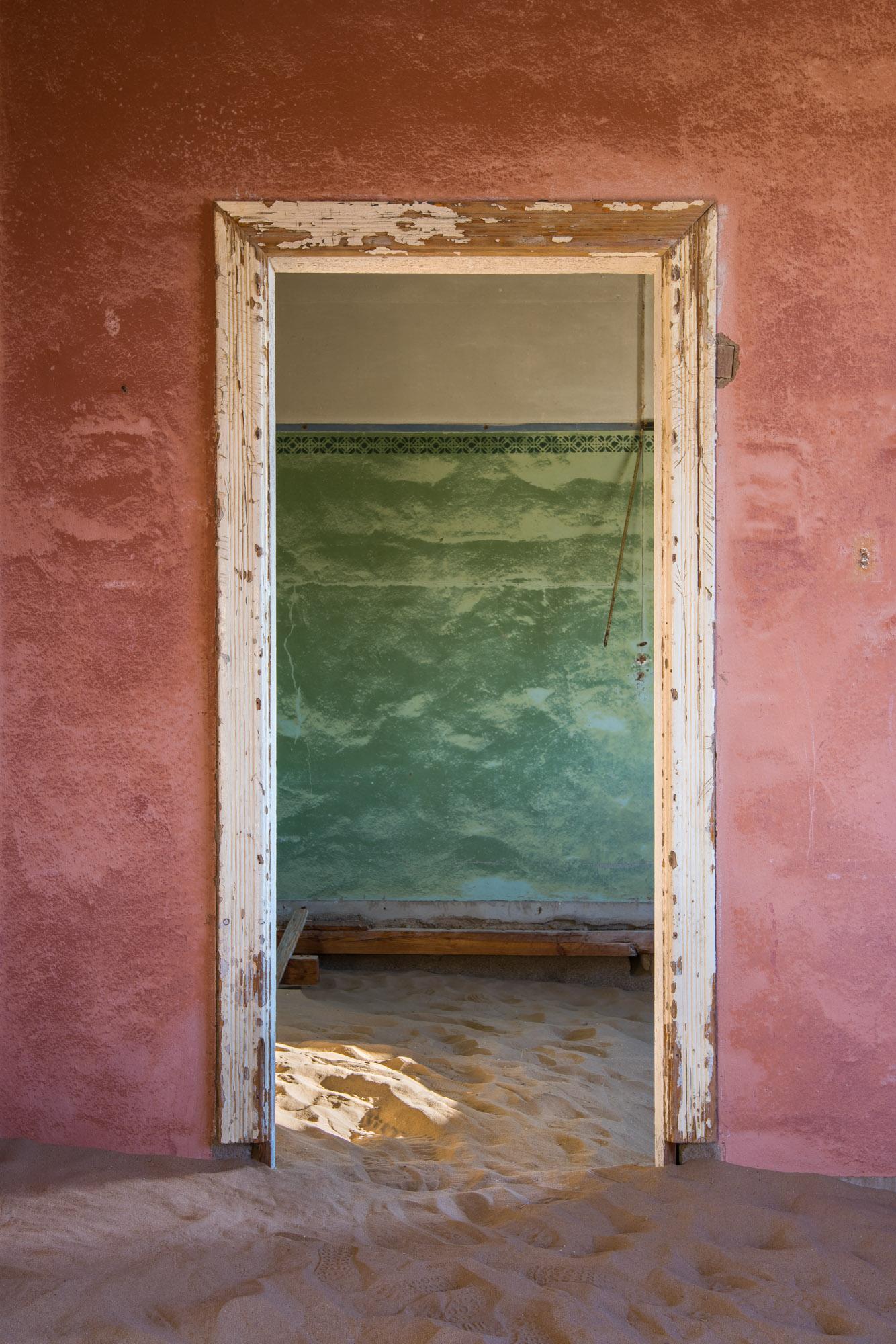 Doorway in a Derelict House, Kolmanskop, Namibia