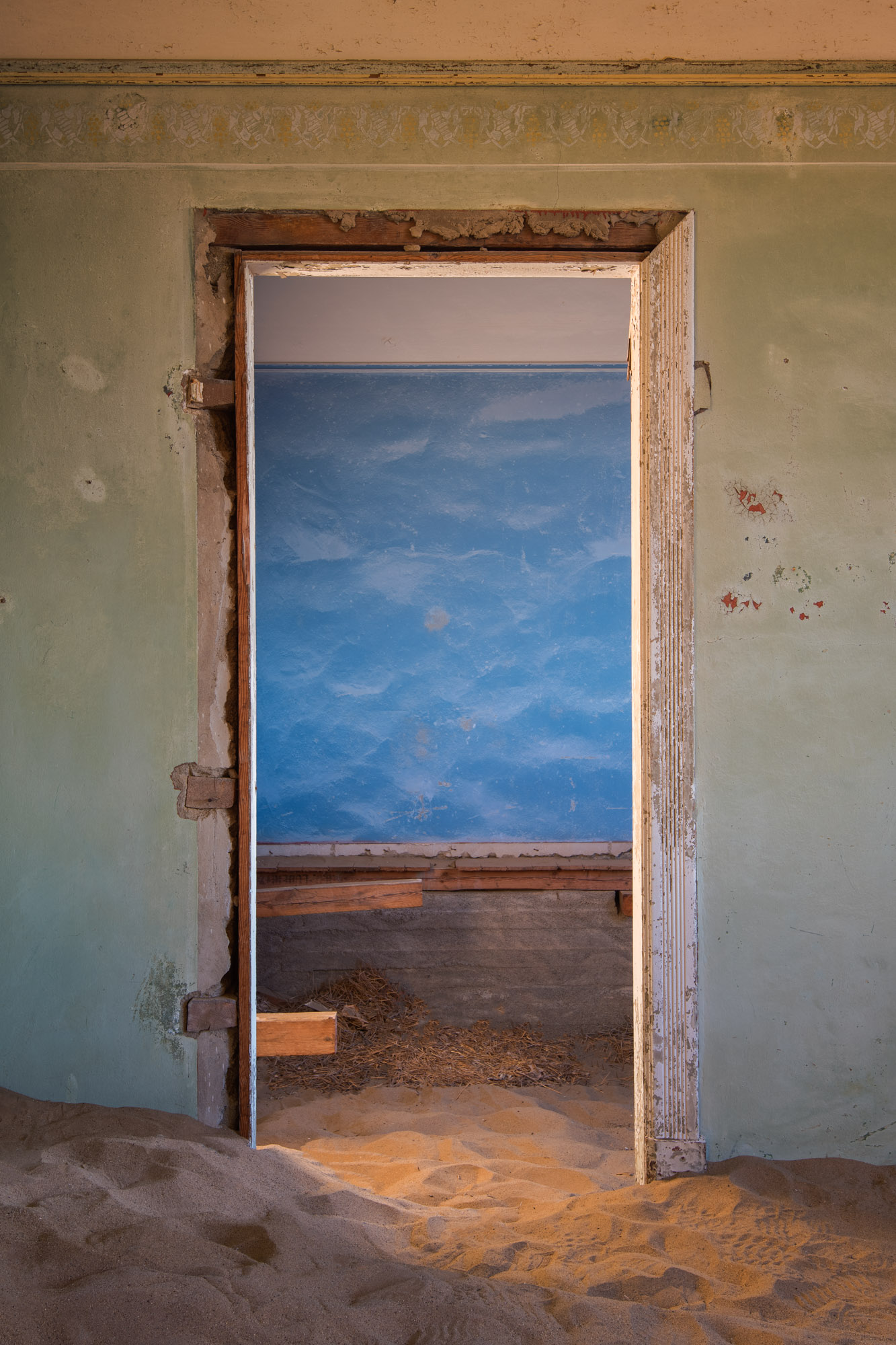 Doorway in an Abandoned House, Kolmanskop, Namibia