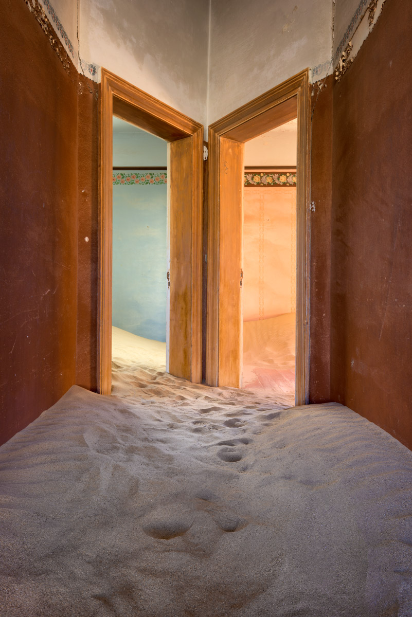 Hallway in an Abandoned House, Kolmanskop, Namibia