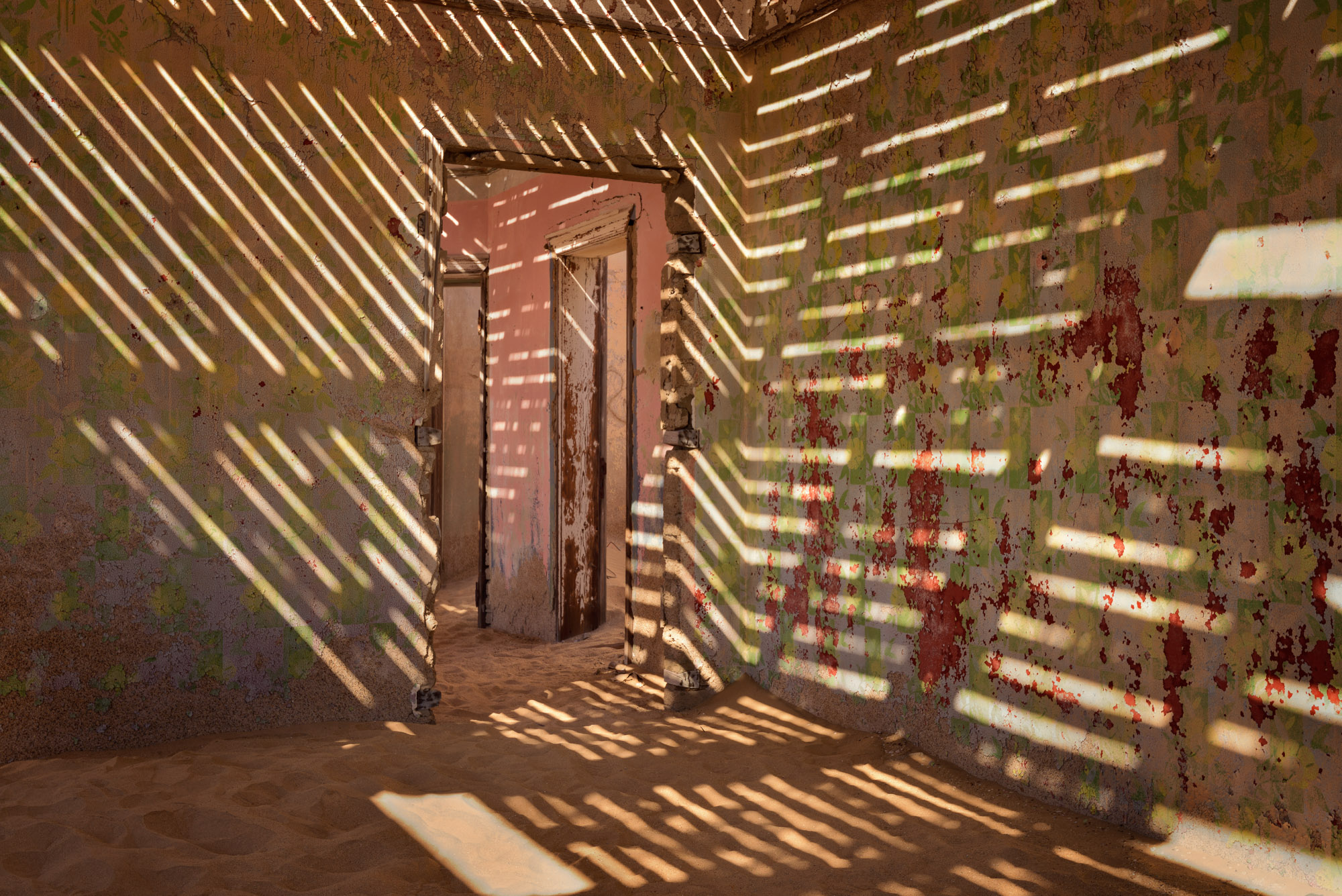 Interior of an Abandoned House, Kolmanskop, Namibia