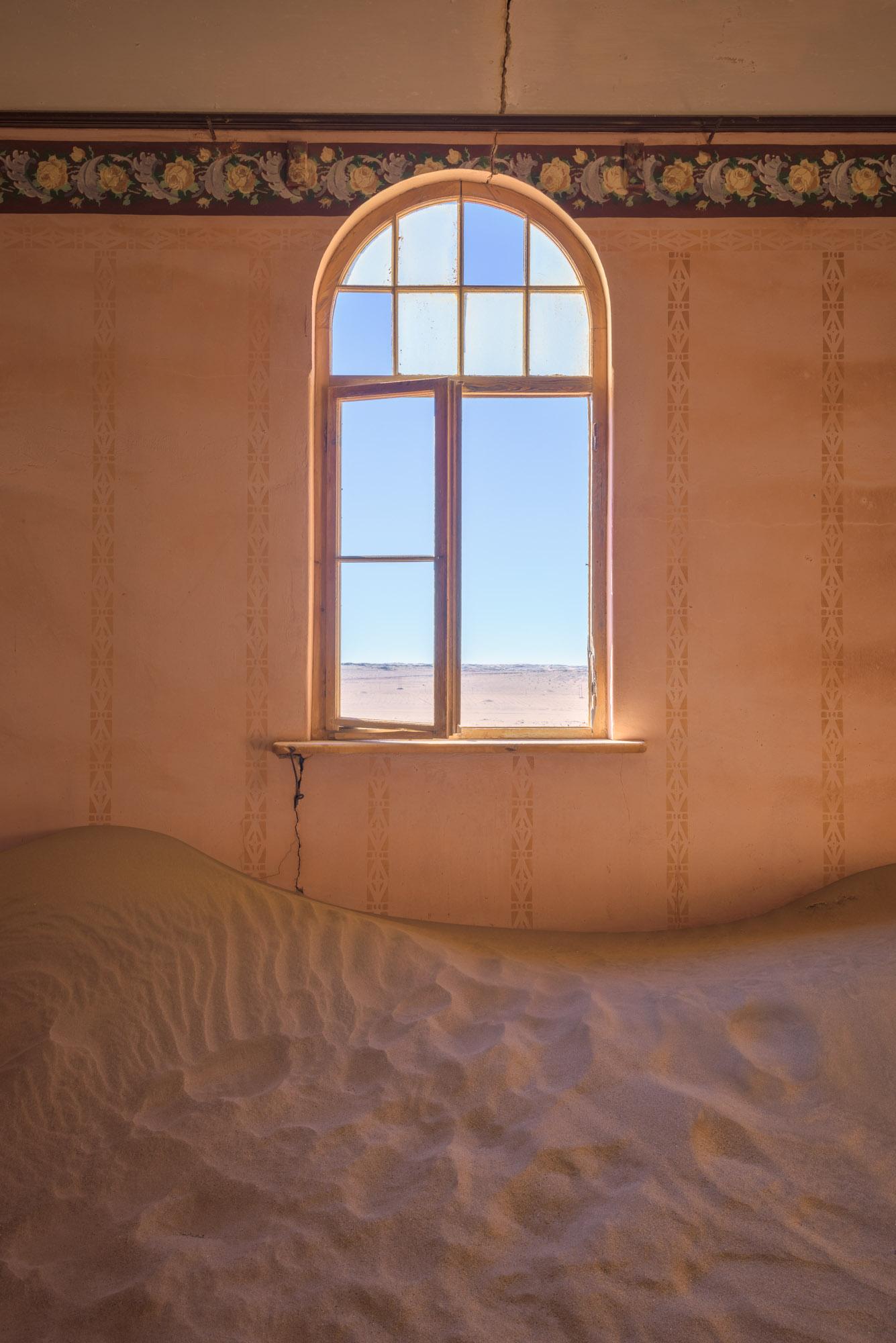 Window in an Abandoned House, Kolmanskop, Namibia