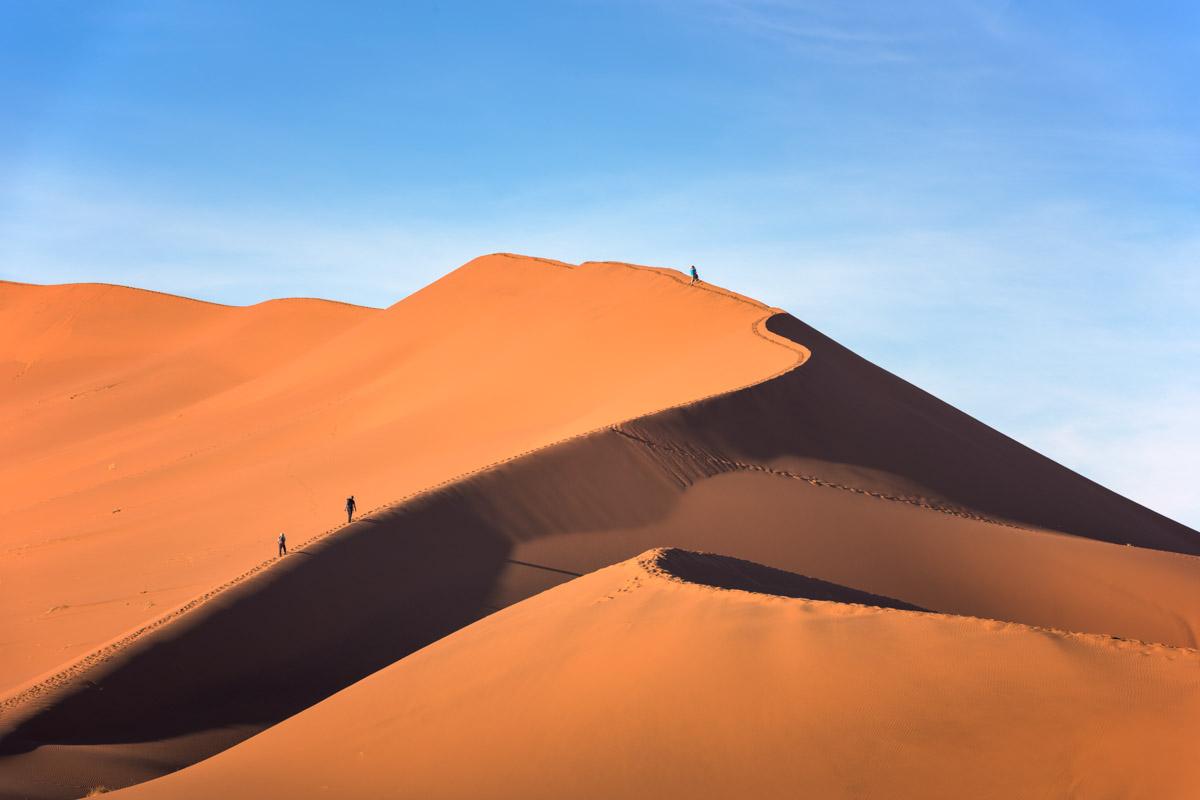Dunes of Sossusvlei, Namib-Naukluft Park, Namibia