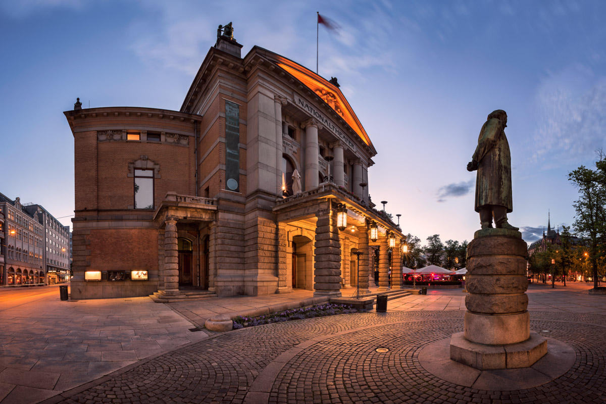 National Theater in Oslo, Norway