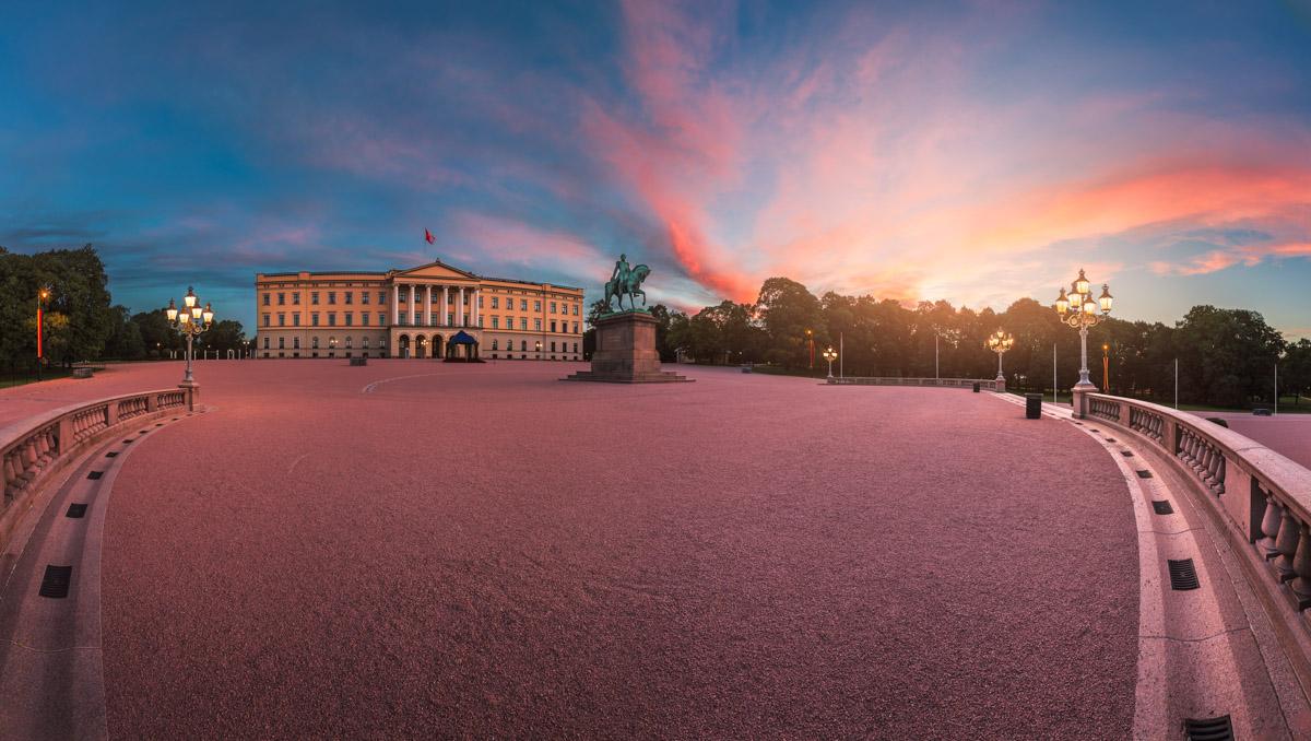The Royal Palace, Oslo, Norway