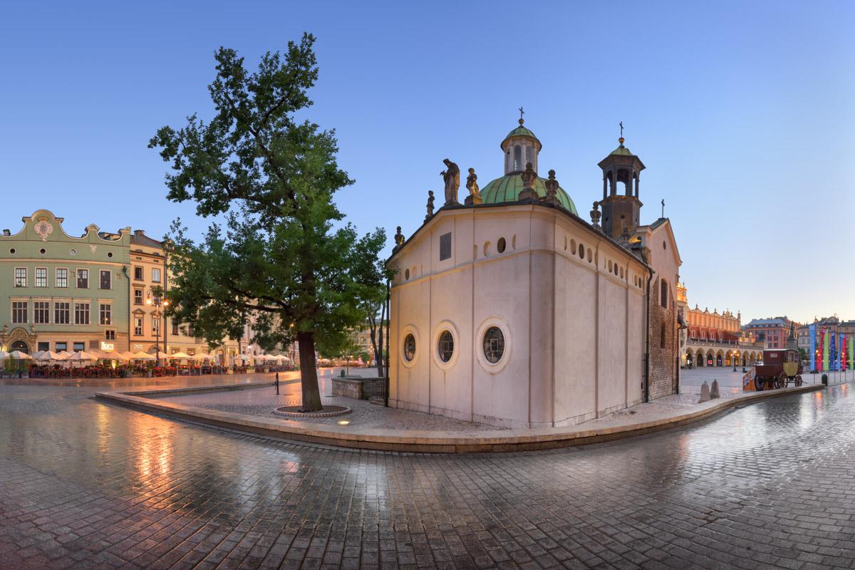 Church of Saint Wojciech, Krakow, Poland