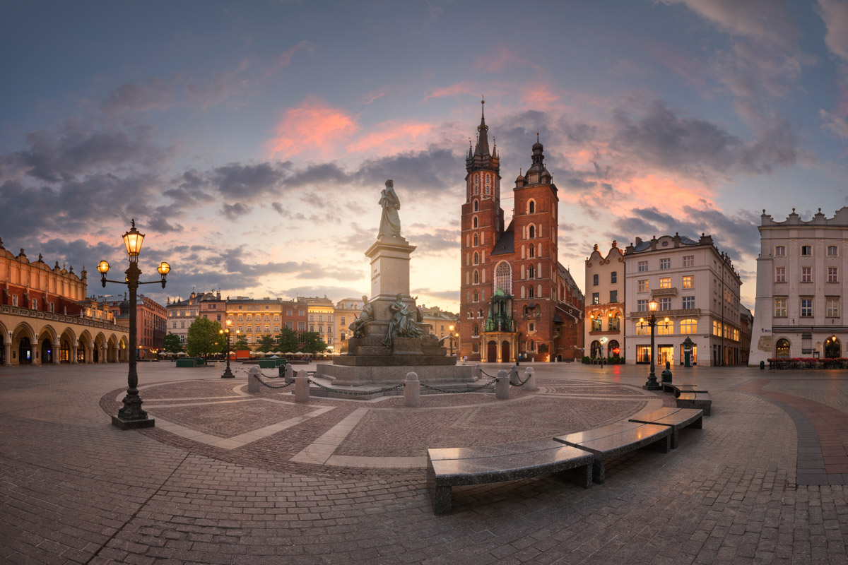 Rynek Glowny Square, Krakow, Poland