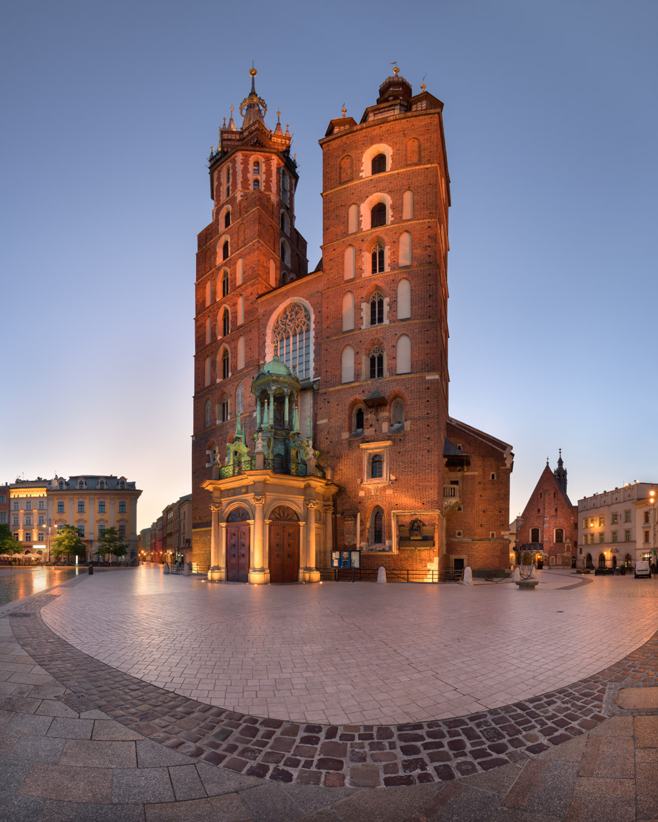 Saint Mary Basilica, Krakow, Poland