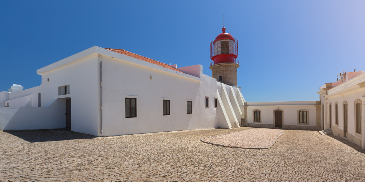 Lighthouse of Cape Saint Vincent, Portugal