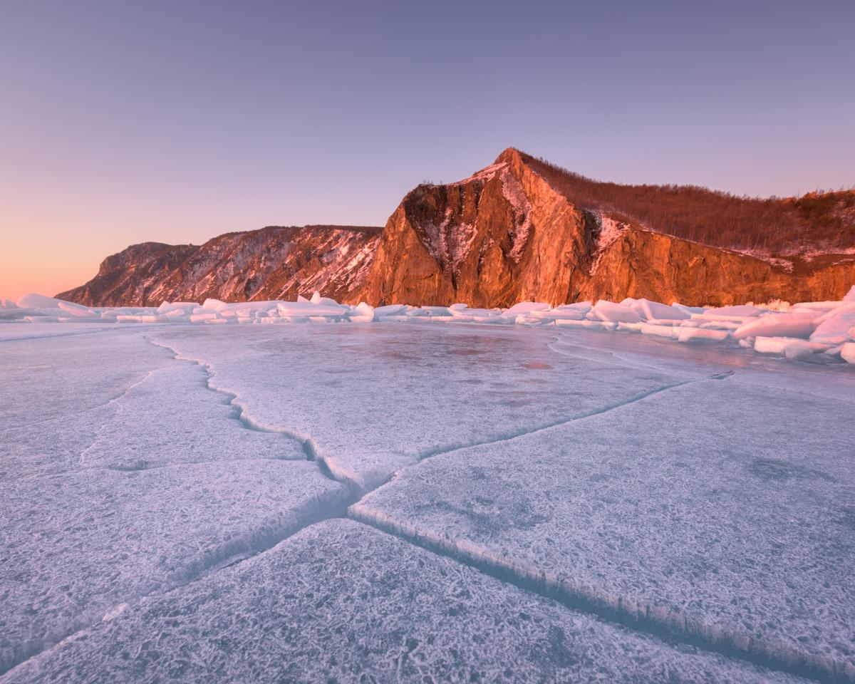 Bay Uzur and Olkhon Island, Lake Baikal, Russia