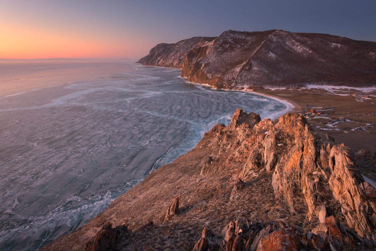 Bay Uzur, Olkhon Island and Lake Baikal, Russia