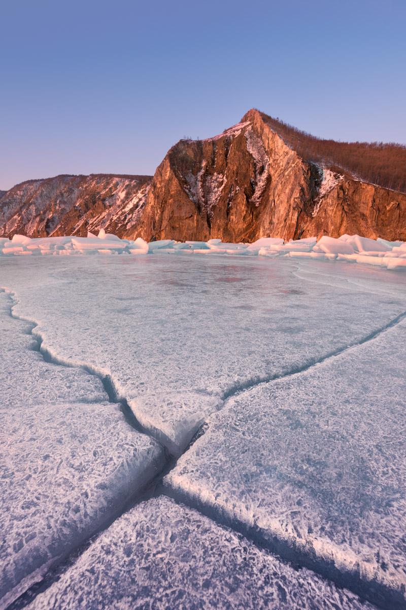 Bay Uzur, Olkhon Island, Lake Baikal, Russia
