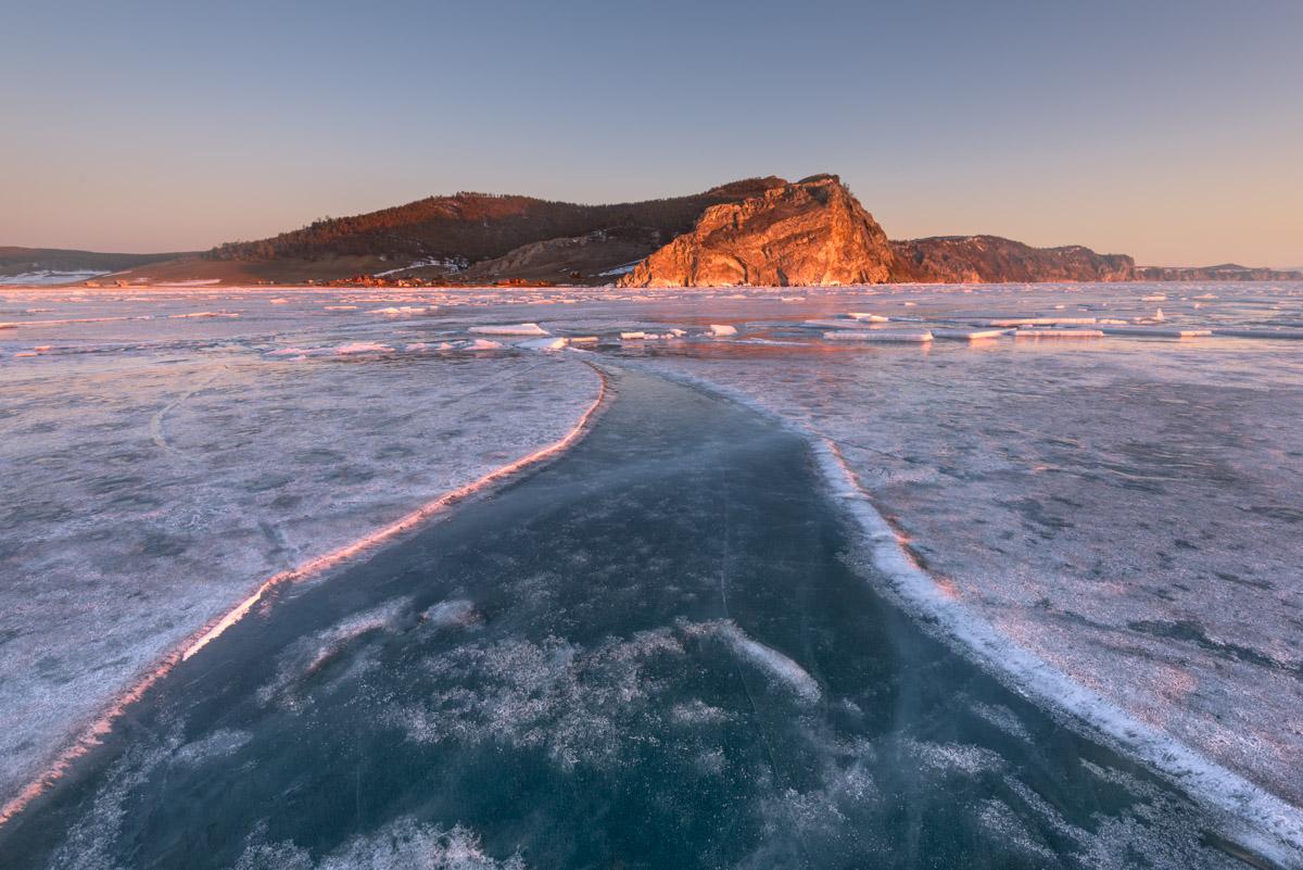 Bay Uzur, Olkhon, Lake Baikal, Russia