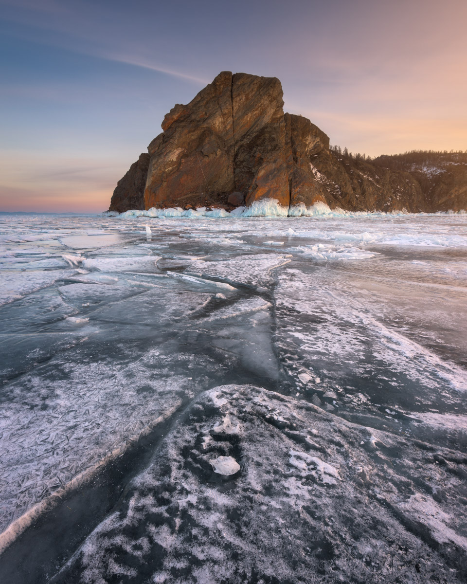 Cape Khoboy and Olkhon Island, Lake Baikal, Russia