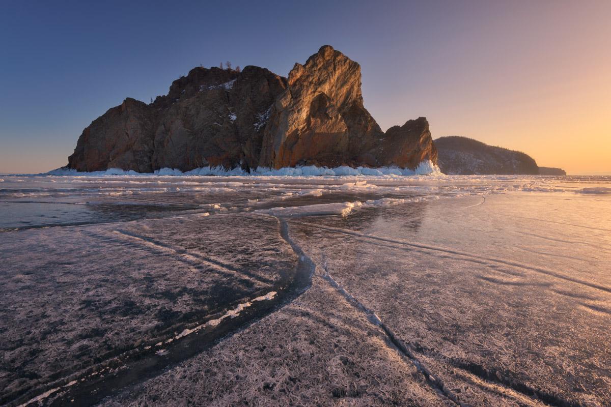 Cape Khoboy, Olkhon Island, Lake Baikal, Russia