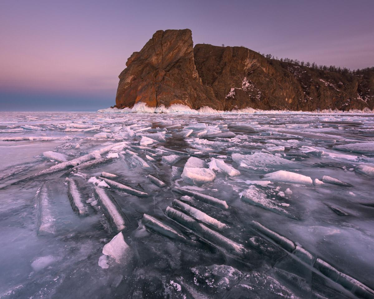 Cape Khoboy, Olkhon, Lake Baikal, Russia