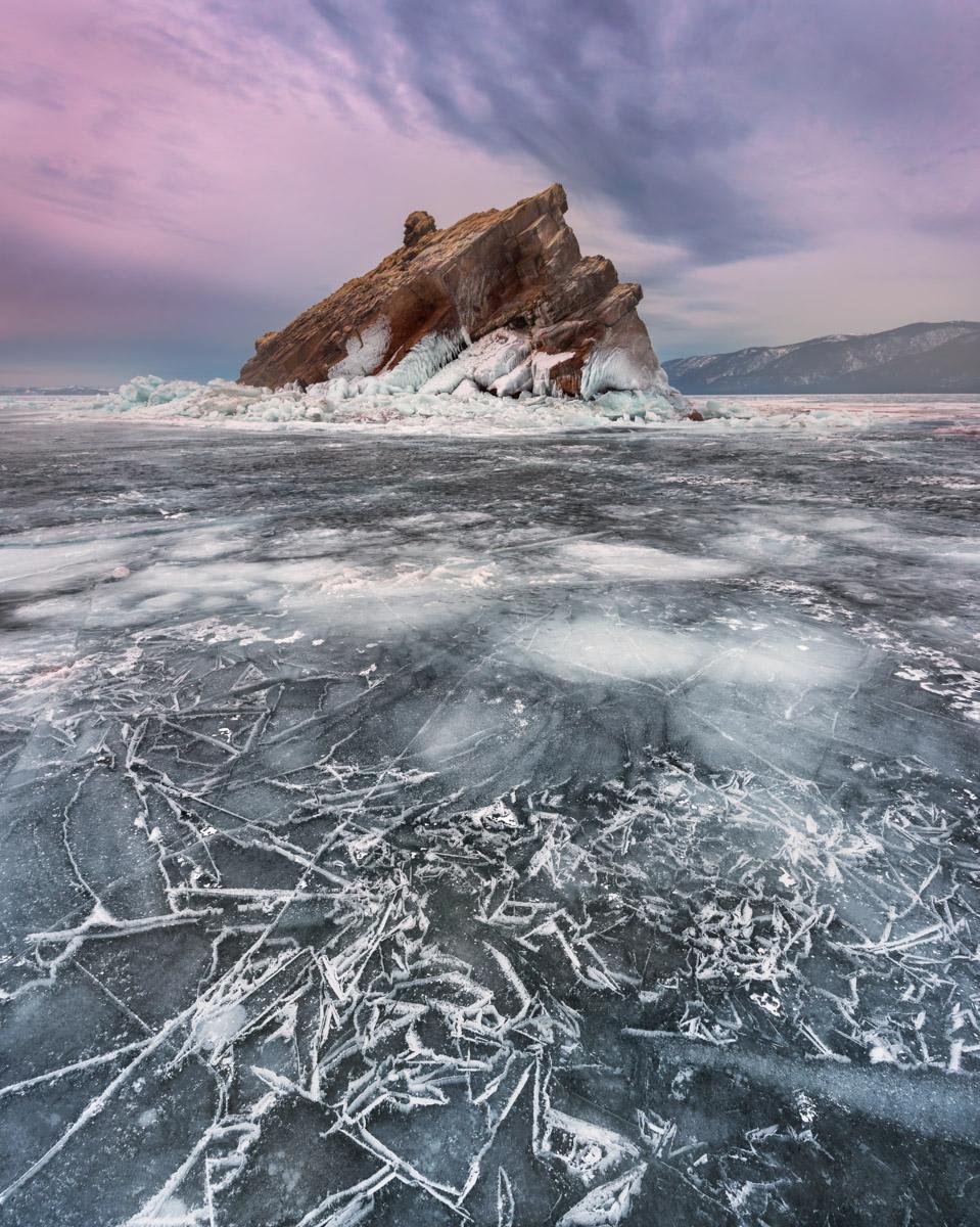Island Elenka, Lake Baikal, Russia