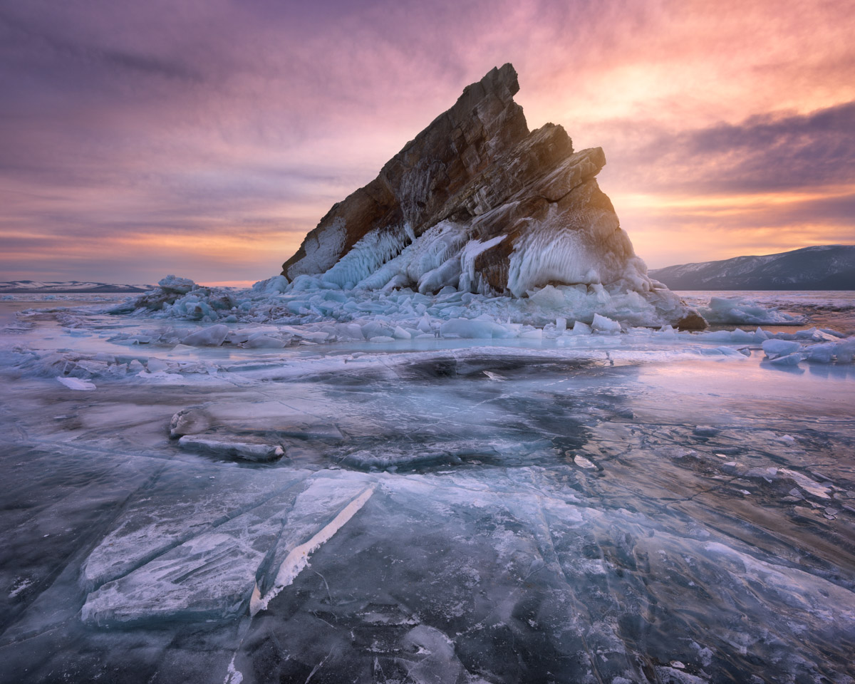 Island Izhilkhey, Lake Baikal, Russia
