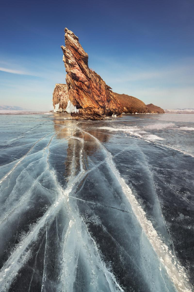 Island Ogoy, Lake Baikal, Russia
