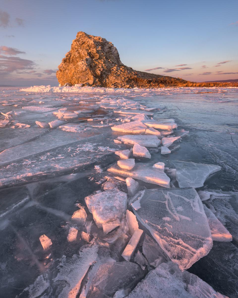 Island Yador and Lake Baikal, Russia