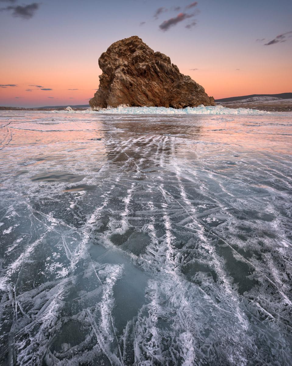 Island Yador, Lake Baikal, Russia