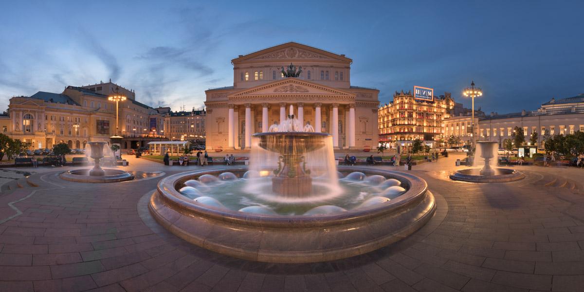 Bolshoi Theatre, Theatre Square, Moscow, Russia