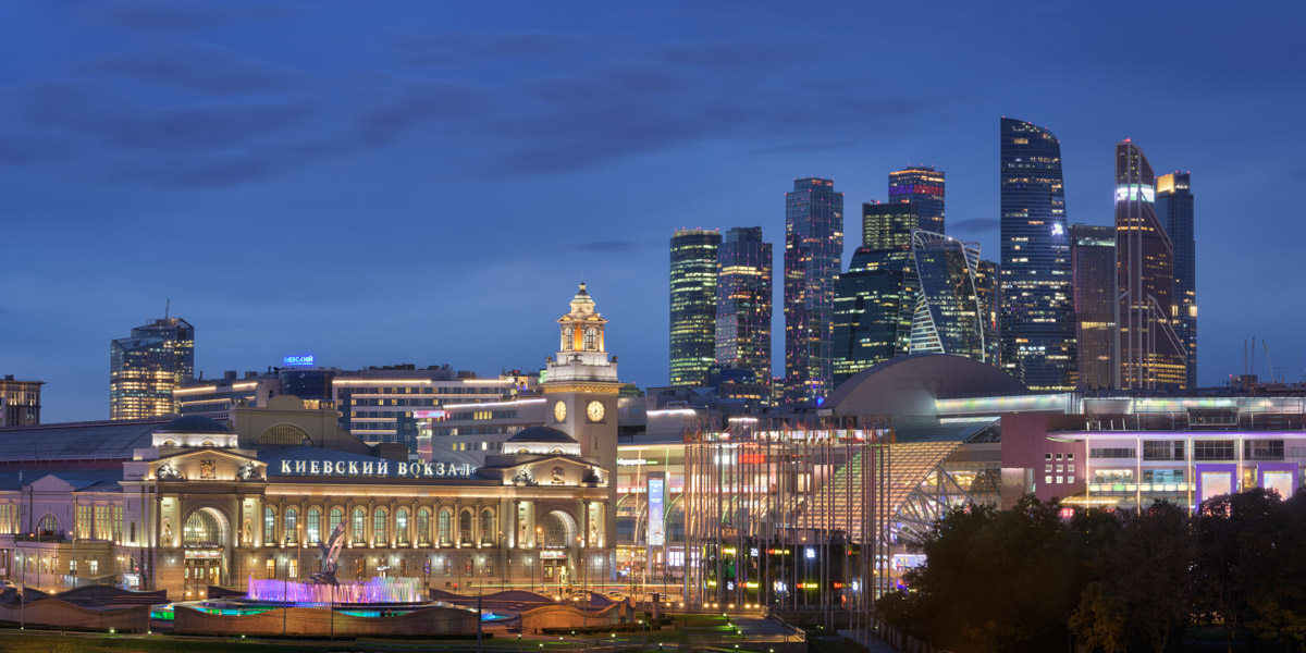 Kiyevsky Railway Station, Moscow City, Moscow, Russia