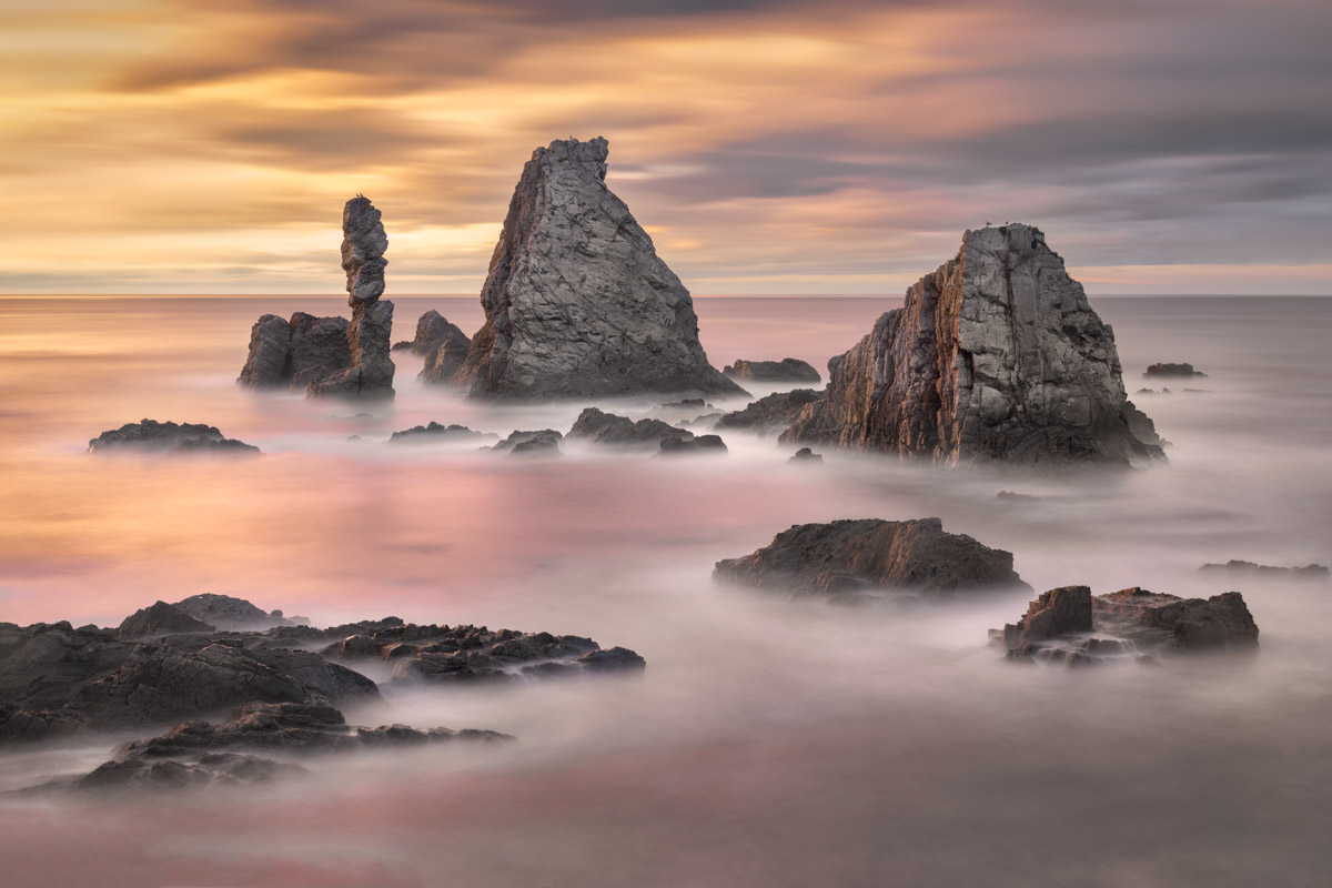 Playa del Silencio in Asturias, Spain