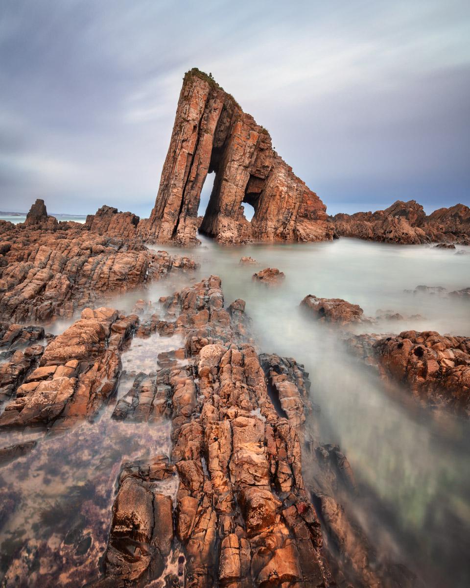 Playa La Vallina, Asturias, Spain