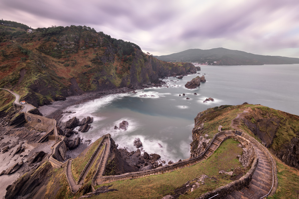 Gaztelugatxe Stairway, Basque Country, Spain