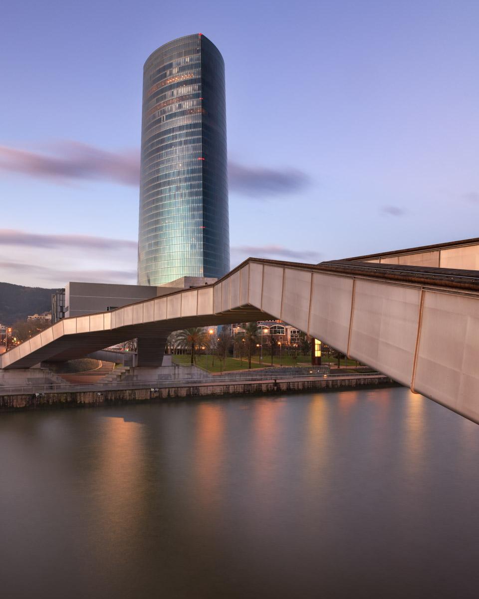 Torre Iberdrola, Pedro Arrupe Zubia Bridge, Bilbao, Spain