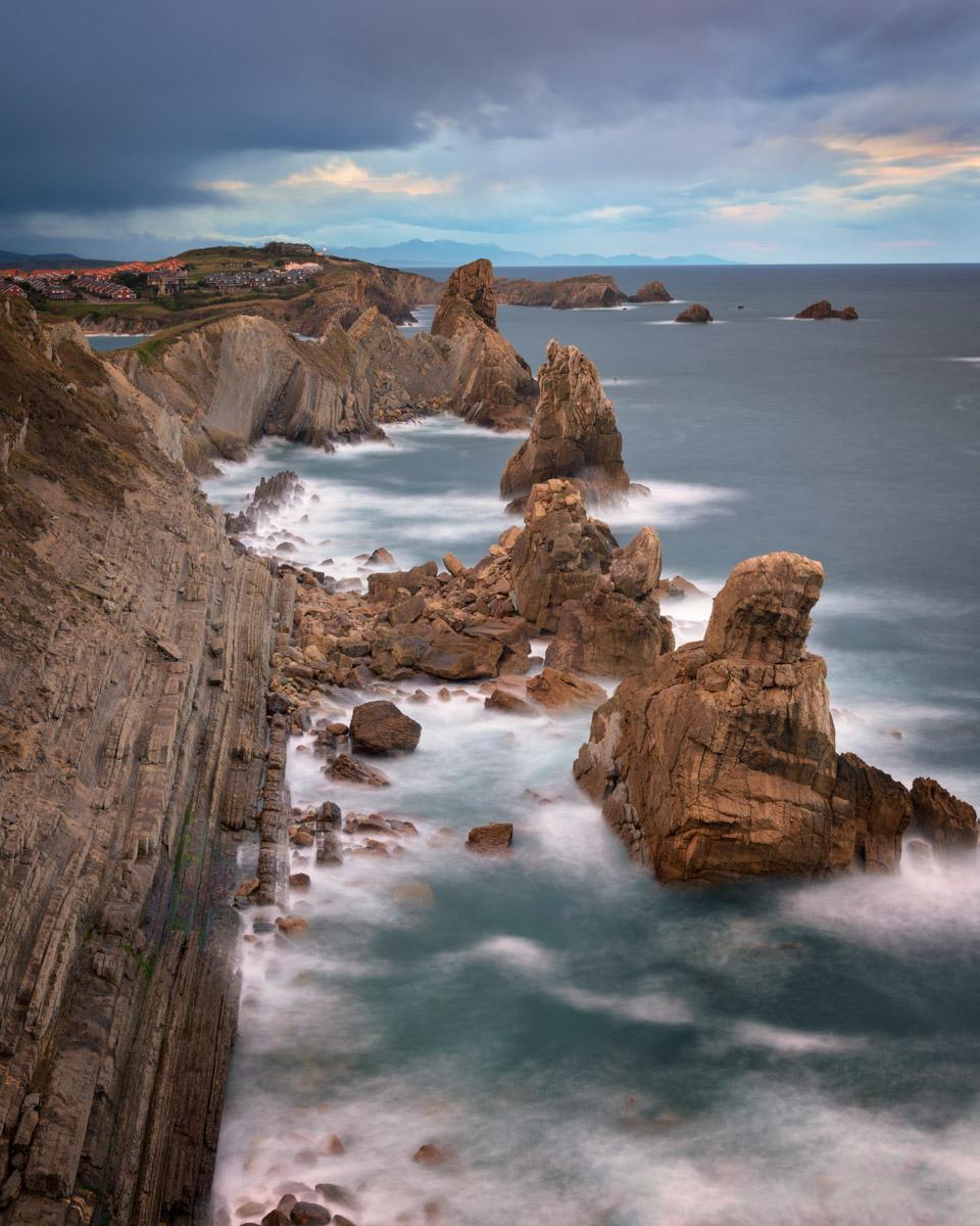 Rocky Beach, Liencres, Cantabria, Spain