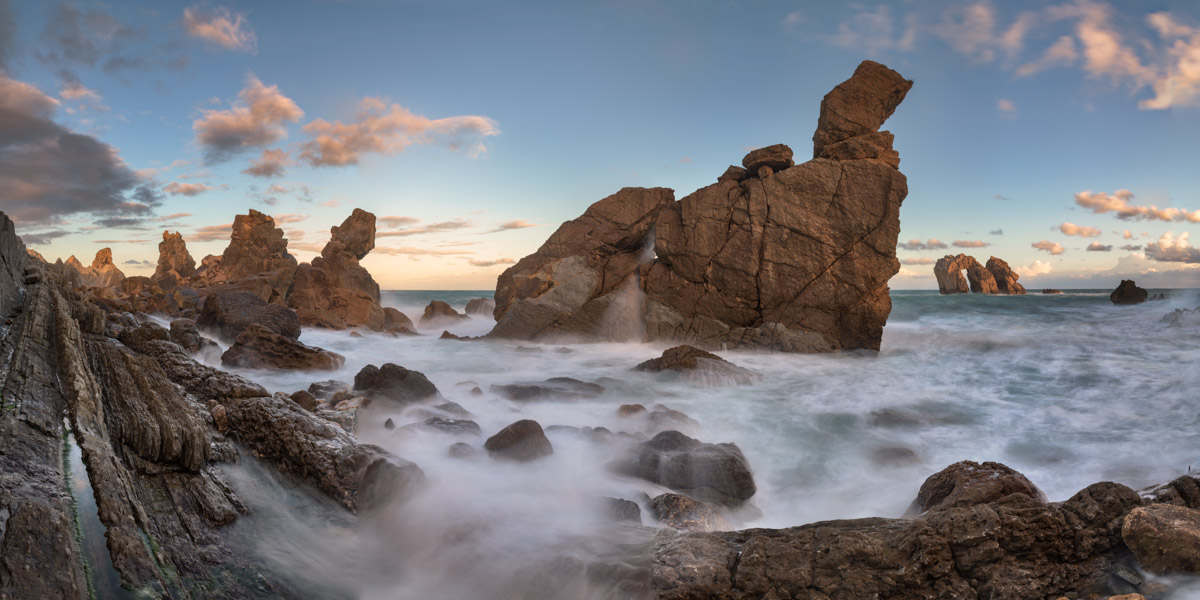 Sea Stacks of Liencres, Cantabria, Spain