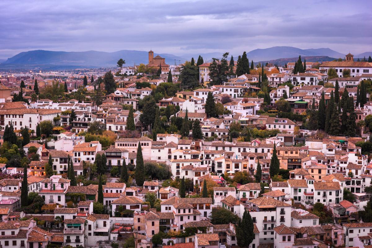Albaicin District in Granada, Spain