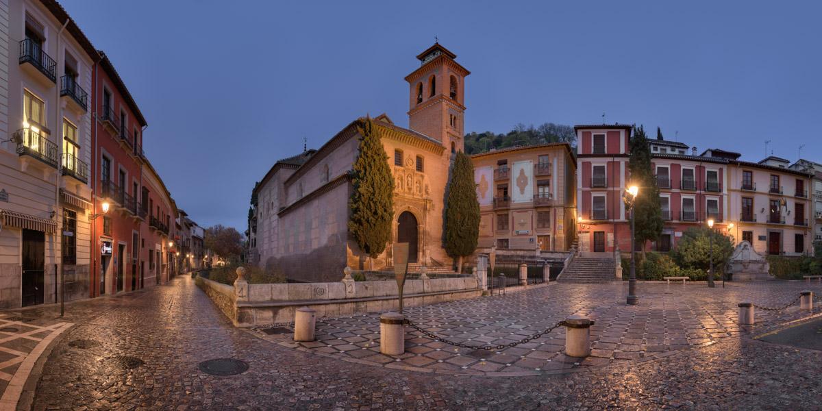 Iglesia de San Gil y Santa Ana, Granada, Spain