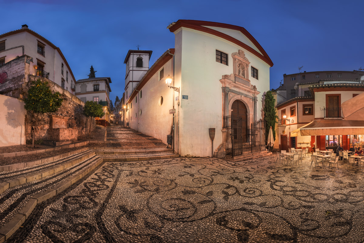 Iglesia de San Gregorio Betico, Granada, Spain