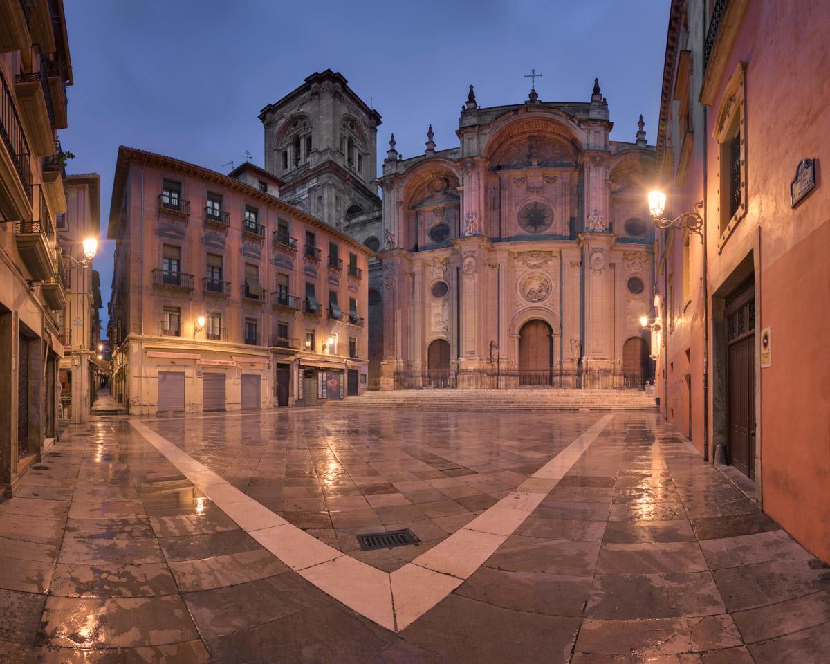 Plaza de las Pasiegas, Catedral de Granada, Granada, Spain