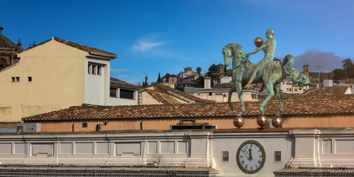 Plaza del Carmen, Granada Tourist Information Center, Spain