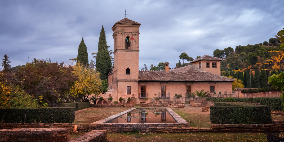 Saint Francis Convent, Alhambra Palace, Granada, Spain