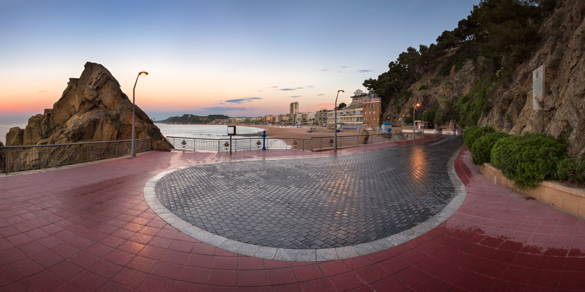 Lloret de Mar Seafront, Costa Brava, Spain