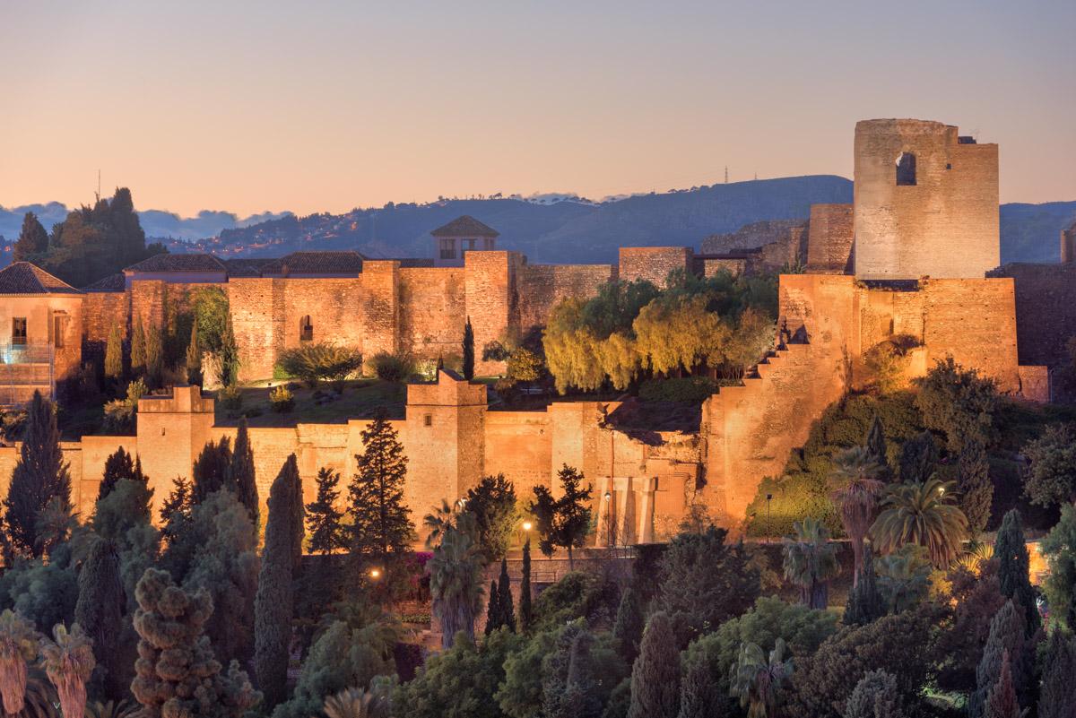 Alcazaba of Malaga, Andalusia, Spain