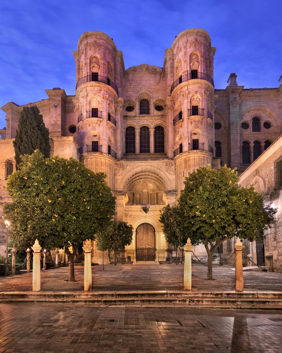 Malaga Cathedral, Andalusia, Spain