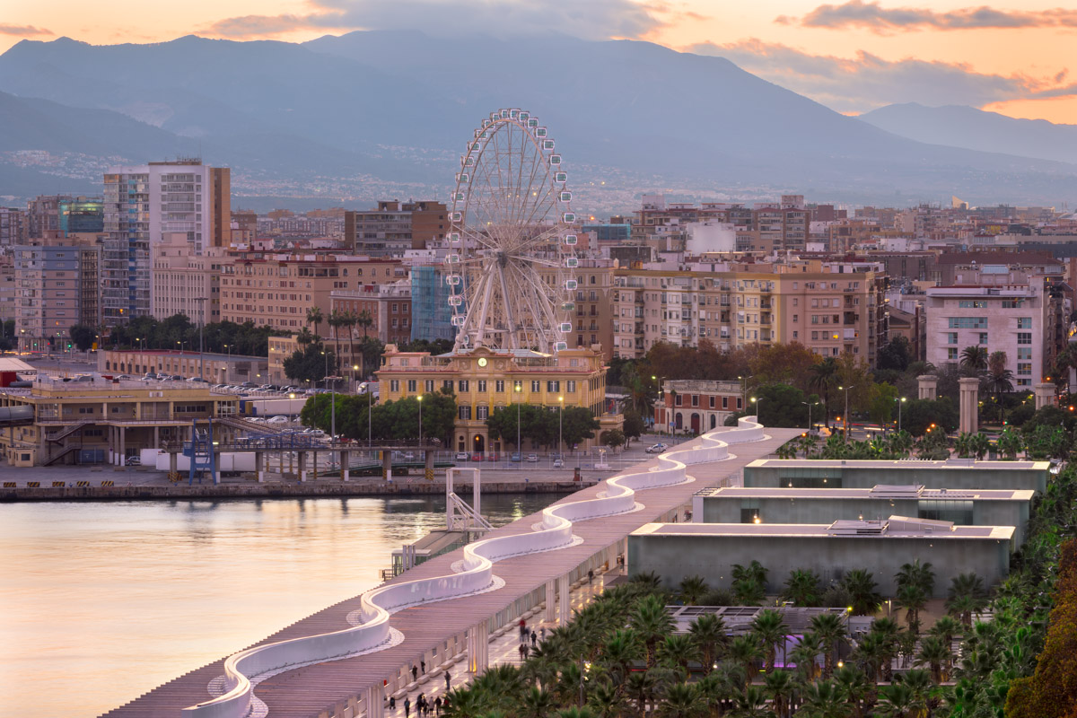 Malaga Embankment, Andalusia, Spain