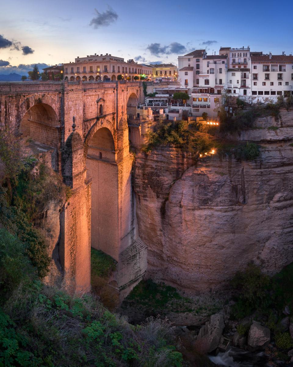 Puente Nuevo Bridge, Ronda, Andalusia, Spain