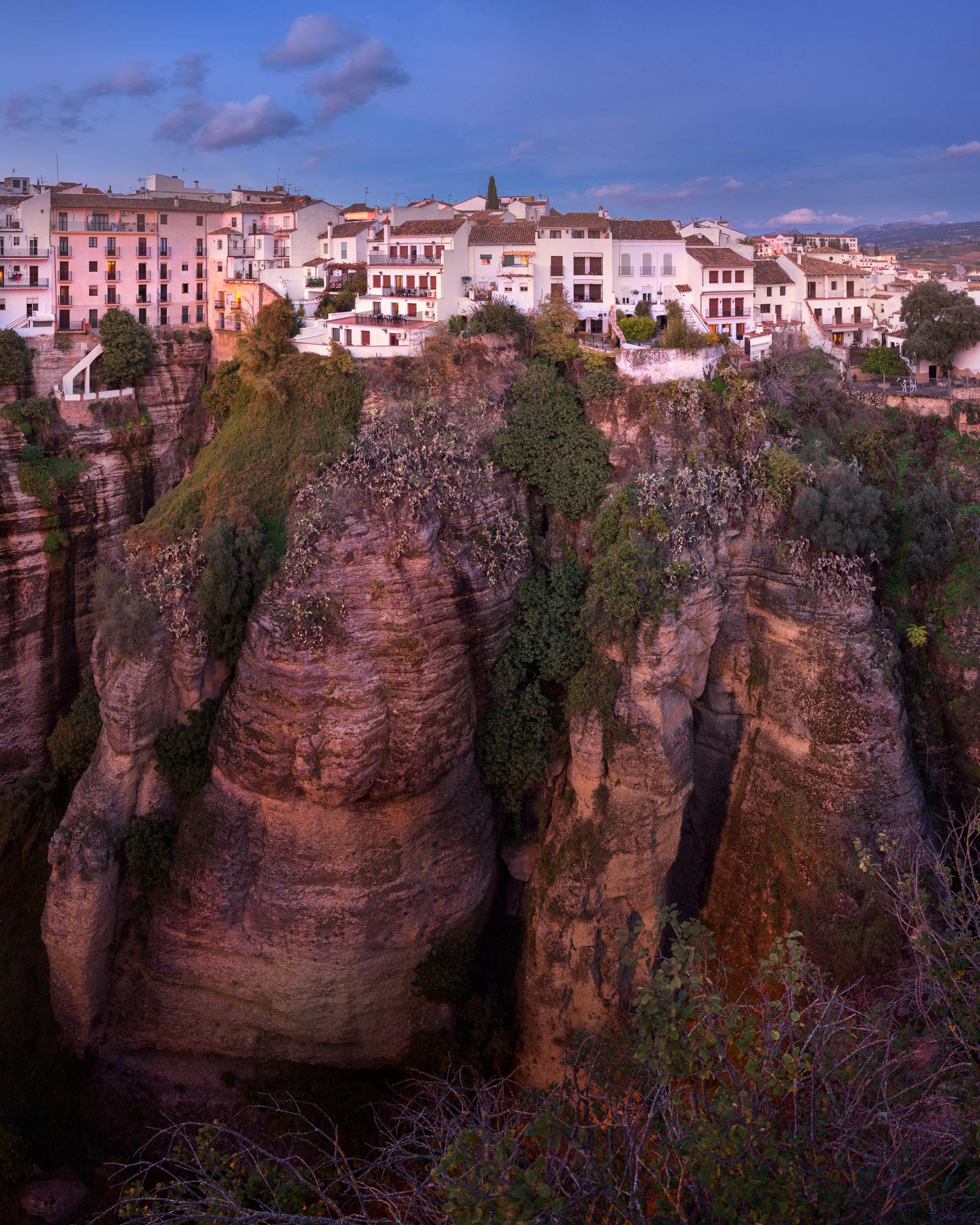 Ronda Skyline, Andalusia, Spain