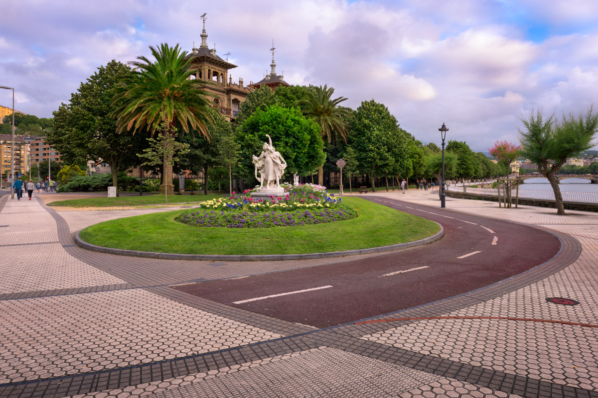 De Euskadi Plaza, San Sebastian, Spain