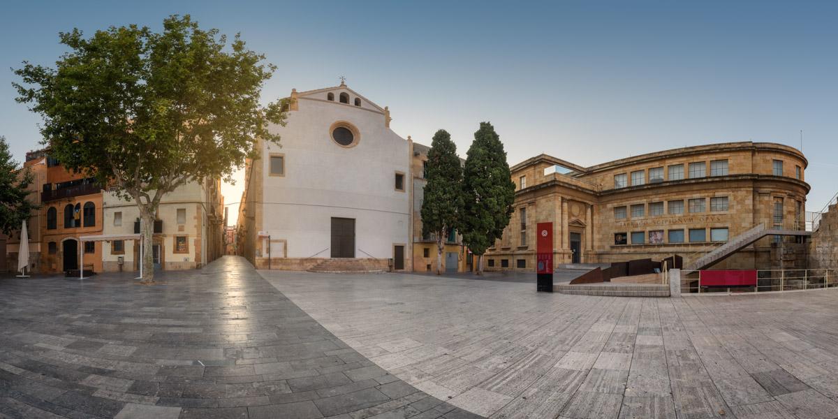 Placa del Rei, Tarragona, Catalonia, Spain