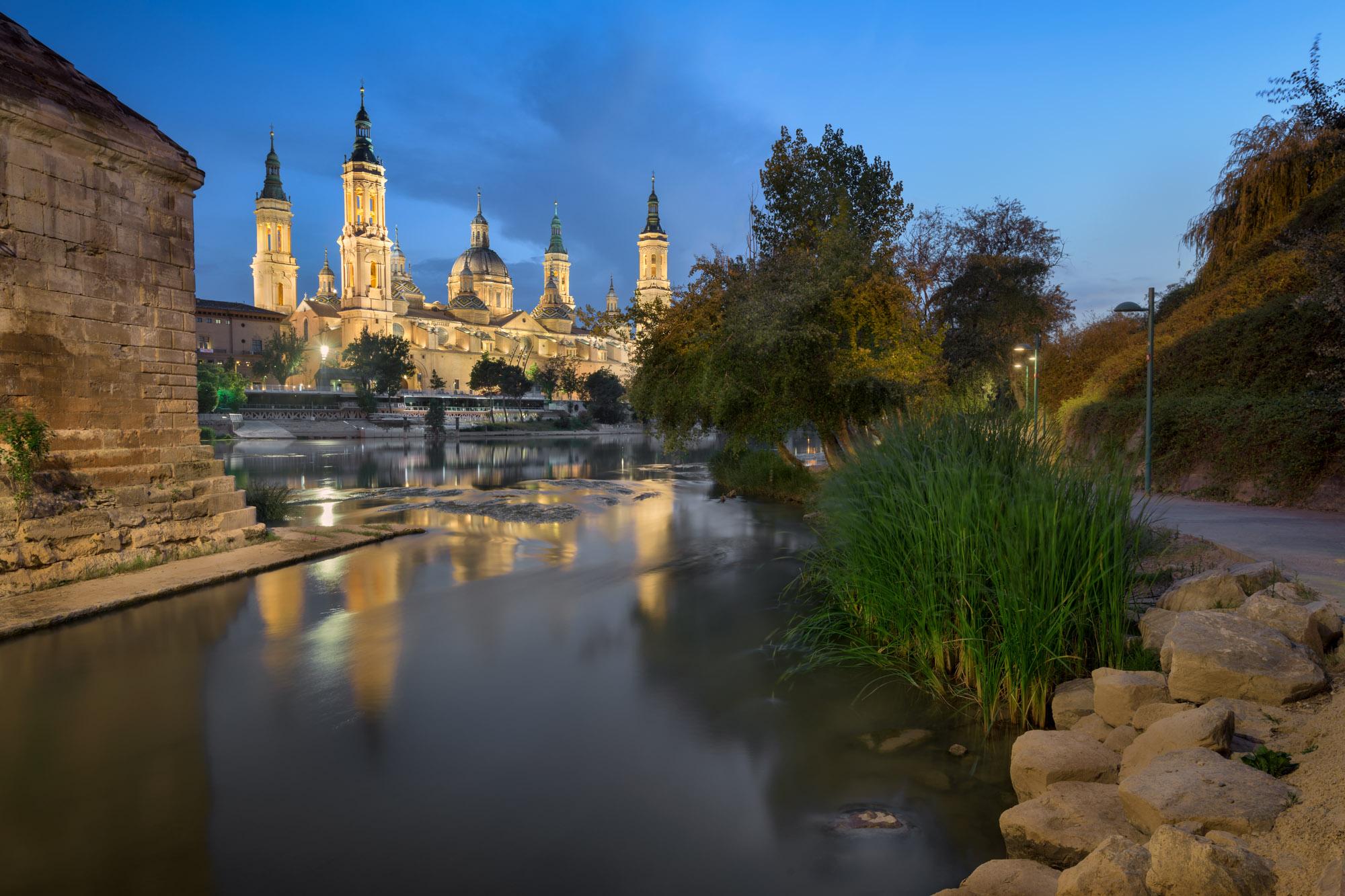 Basilica of Our Lady of the Pillar, Zaragoza, Spain