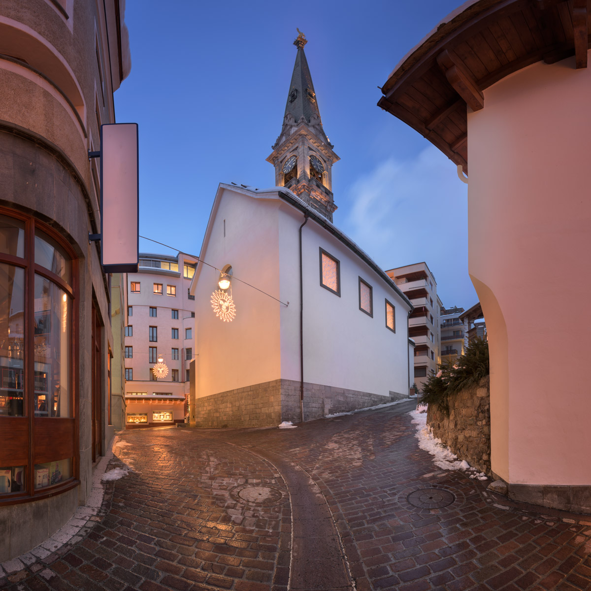 Reformed Church St Moritz, Switzerland