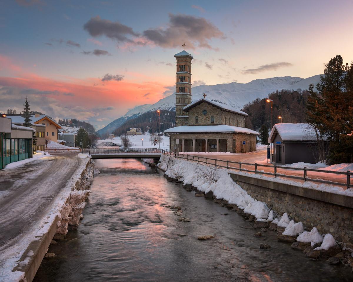 Saint Karl Borromaus Church, St Moritz, Switzerland