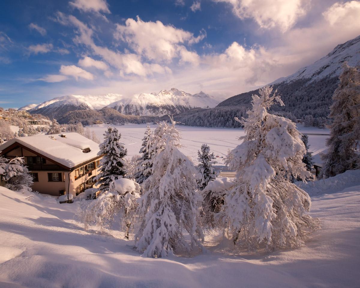 St Moritz Lake, Switzerland